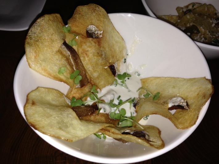 Sardine crisps